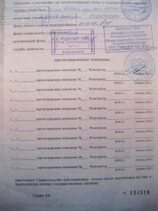 Свидетельство о государственной регистрации стр.2